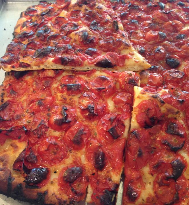 pizza con pomodorini da Brianti